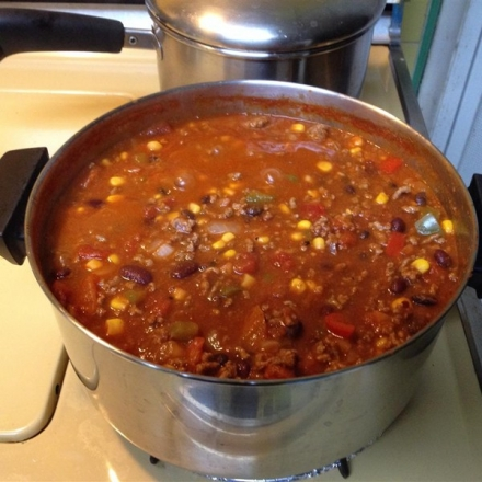 It's Chili by George Recipe