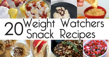 20 Weight Watchers Snack Recipes