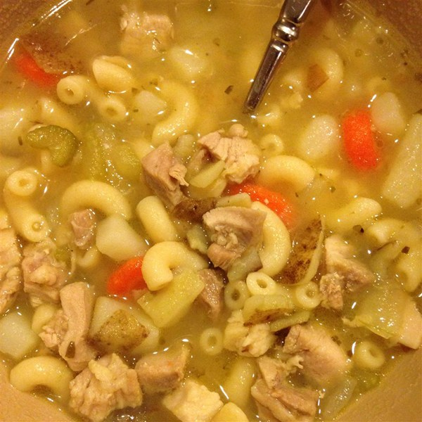 When you don't have time to make your soup totally from scratch, this is a very easy, very good substitute