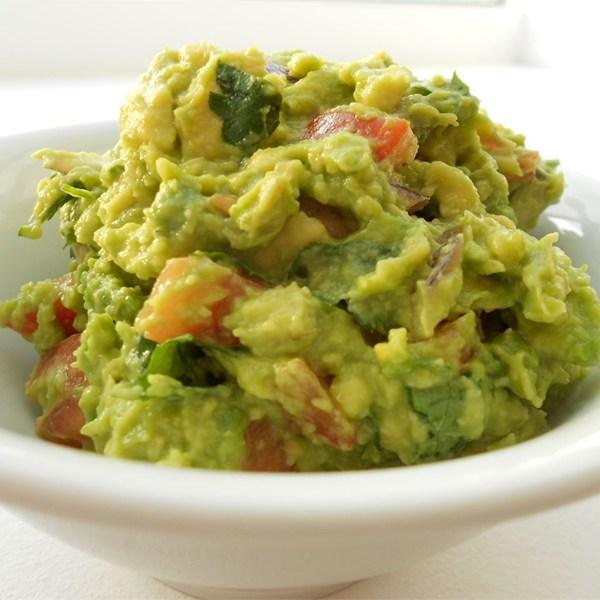 Guacamole – avocado salad smooth