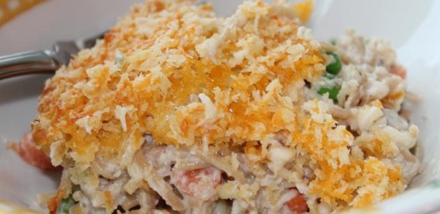 """Chicken """"pot Pie"""" With Crunchy Brown Rice Crust"""