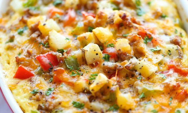Cheesy-Breakfast-Casserole-3