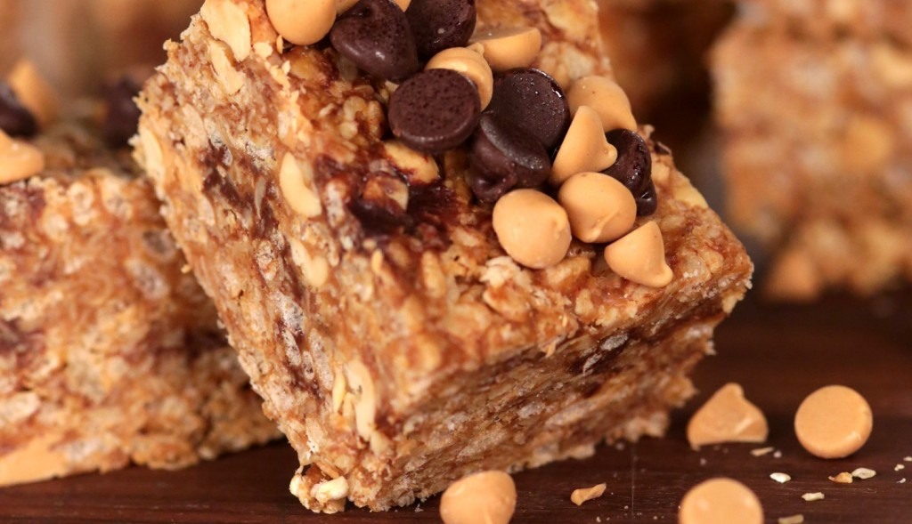 Skinny Points Recipes » No-Bake Rice Krispies Peanut Butter Granola ...