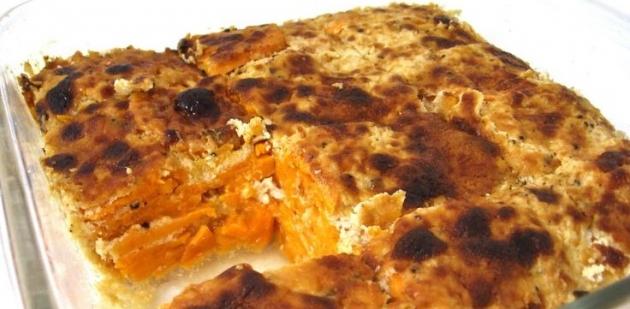 Skinny Scalloped Sweet Potato Casserole