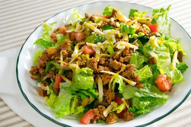 Low Carb/low Sodium Taco Salad 5 Smartpoints