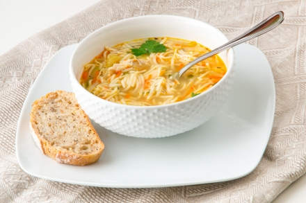 2 Point Chicken Noodle Soup