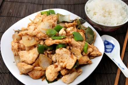 Chinese General's Chicken (Weight Watchers)