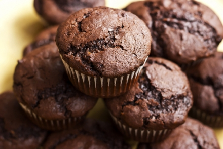 2-ingredient Chocolate Pumpkin Muffins and Cookies