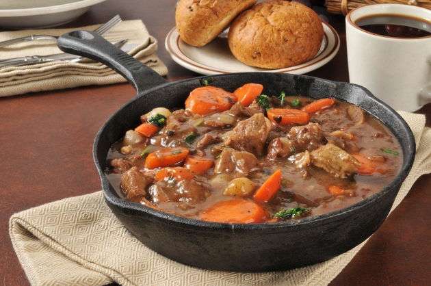 Skillet Beef & Vegetable Stew