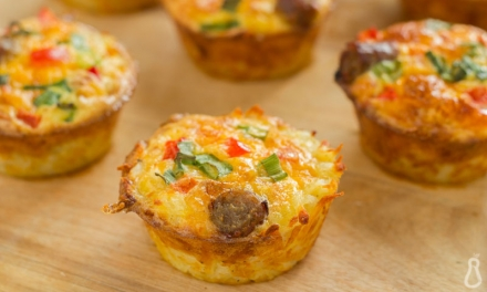 Breakfast Egg and Veggie Muffins