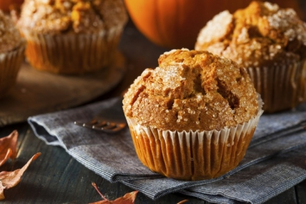 2 Point- Pumpkin Muffins (weight watchers)