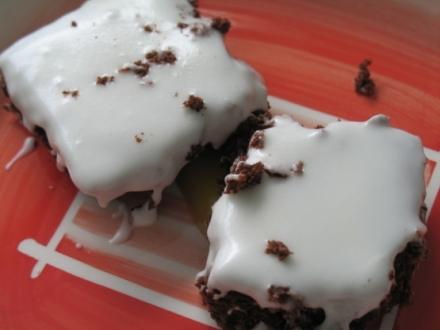 Iced Chocolate Brownies