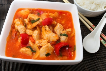 Crock Pot Sweet & Sour Chicken (Weight Watchers)