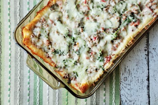 Weight Watcher's Pizza Casserole