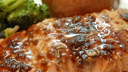 Glazed Salmon Fillets