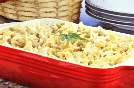 6 point Campbell's Tuna Noodle Casserole