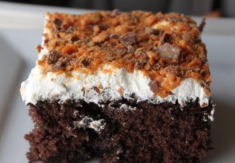 Butterfinger Cake Weight Watchers