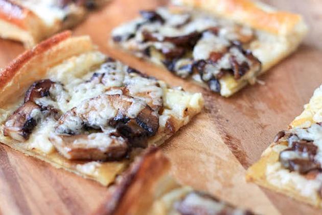 Tasty Flatbreads with Mushroom