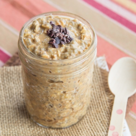 Succulent Reese's Overnight Oats
