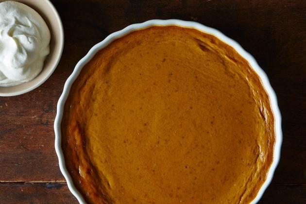 Self-Crust Pumpkin Pie
