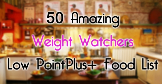 50 Low Points Food List