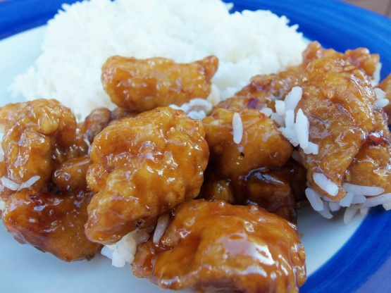 45 Min Orange Chicken