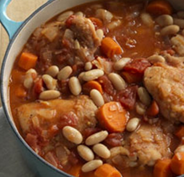 Delicious Tuscan Chicken and Beans