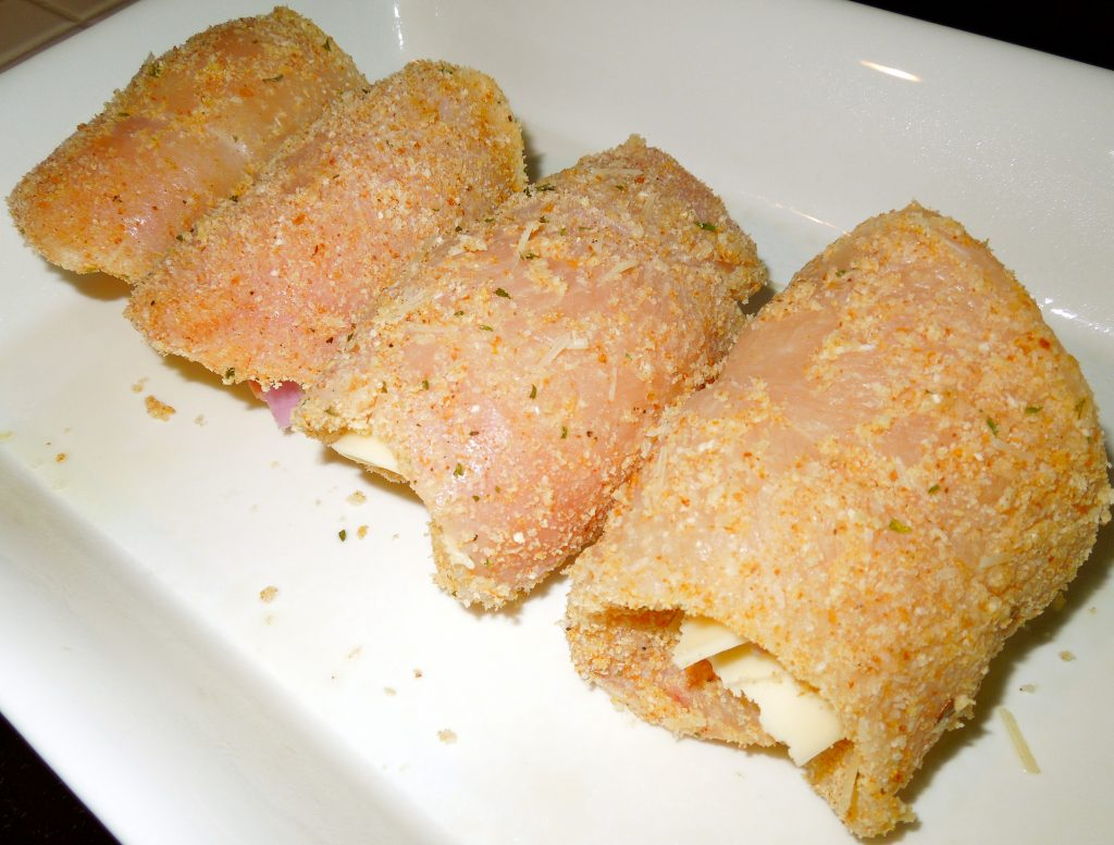 Chicken Rollatini with Prosciutto and Cheese