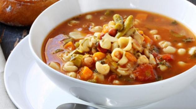 Minestrone Soup (Crock Pot)
