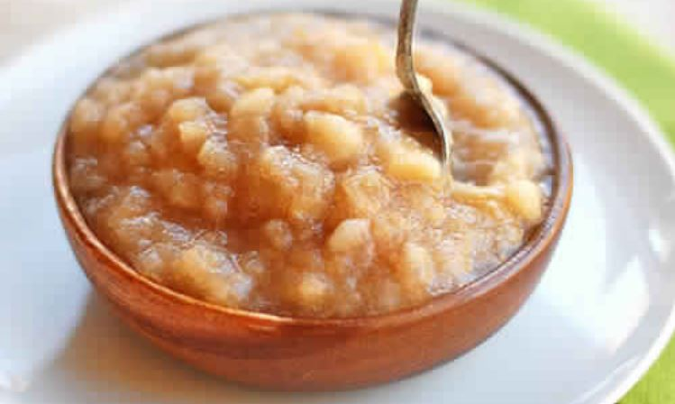 Quick-Homemade-Applesauce-No-Sugar-Added