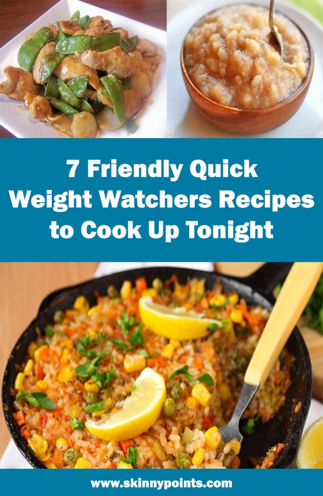 7 Quick WW's Friendl Recipes to Cook Up Tonight