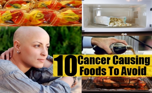 The 10 Cancer Causing Foods You Probably Eat Every Day