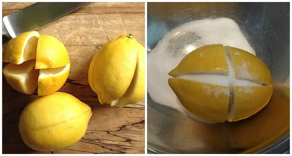Cut 1 Lemon In 4 Parts Put Some Salt On It And Put It In The Middle Of The Kitchen This Trick Will Change Your Life