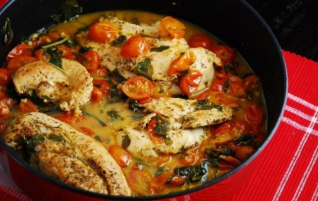 Tomato Basil Chicken Recipe