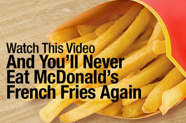 Why Should You Never Eat Mcdonalds French Fries