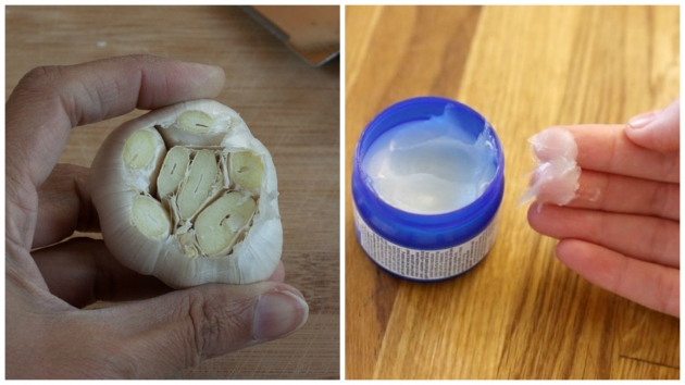 Put Some Vicks Vaporub On A Garlic Clove. The Reason? You'll Regret Not Knowing This Earlier!