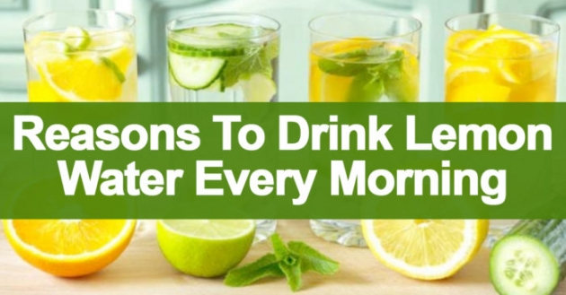 6 Reasons To Drink Lemon Water Every Morning