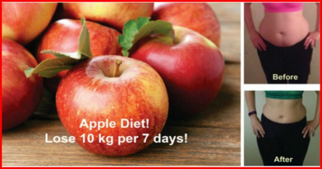 HOW TO LOSE 10 POUNDS IN 7 DAYS (SAFELY AND NATURALLY) WITH THIS INCREDIBLE APPLE DIET!