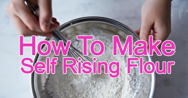 Baking Tip: How To Make Self Rising Flour and Cake Flour