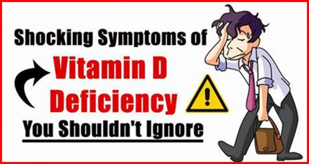Shocking Signs And Symptoms Of Vitamin D Deficiency You Should Not Ignore