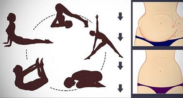 6 Brilliant Yoga Exercises To Reduce Your Belly Fat