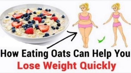 Losing Weight Better and Faster by Eating Oats