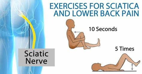 6 Of The Best Exercises For Sciatica And Lower Back Pain!