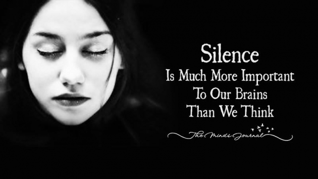 Science Says Silence Is Much More Important To Our Brains Than We Think