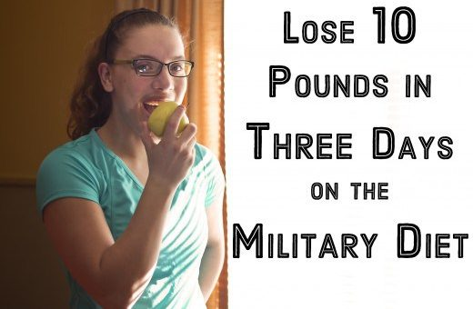 CRAZY 3-DAY MILITARY DIET – YOU WILL LOSE 10 POUNDS