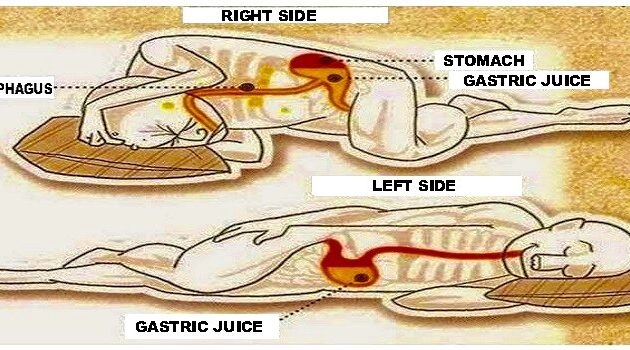 Always Sleep on The Left Side of The Body! Here's Why