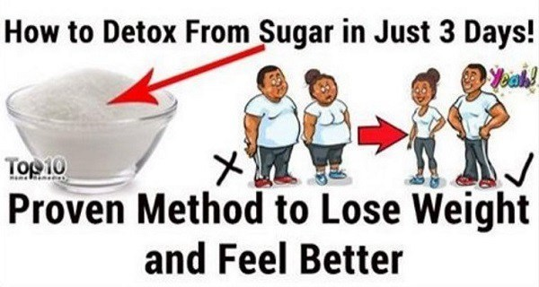 Lose Weight, Feel Better –Sugar Detox In Just 3 Days