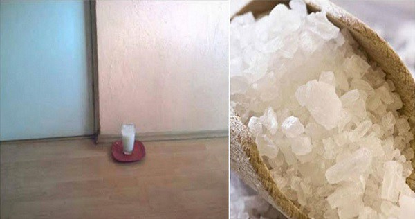 PUT A GLASS OF WATER WITH GAIN SALT, VINEGAR AND WATER IN ANY PART OF YOUR HOUSE, YOU WILL BE VERY SURPRISED