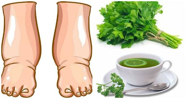 This Powerful Home Made Tea Will Cure Swollen Legs In Few Days