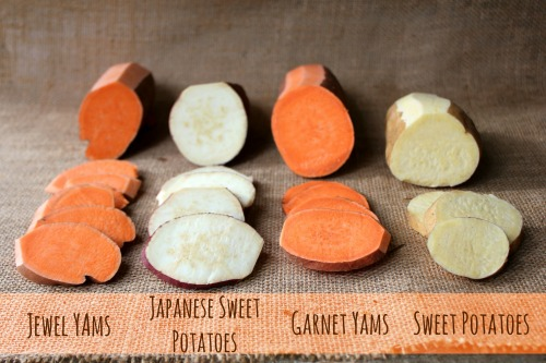 The Difference Between Yams and Sweet Potatoes